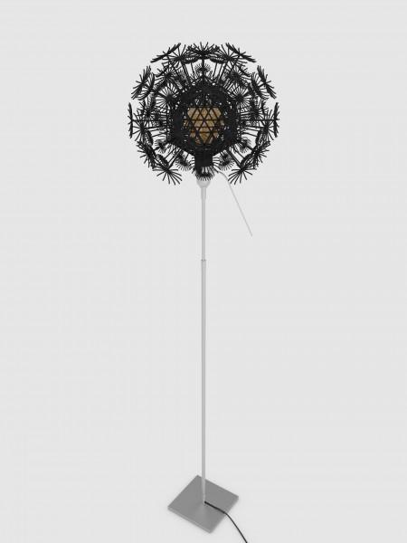 Stehleuchte Pusteblume schwarz