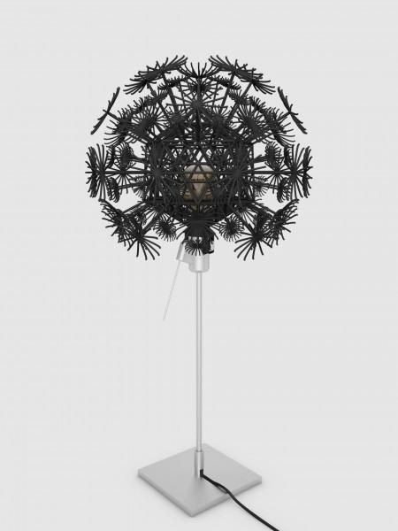 Tischleuchte Pusteblume schwarz