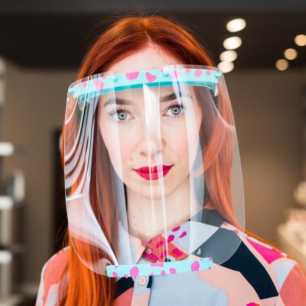 Design Gesichtsvisier + Premium-Lackierung mit matter Oberfläche & Kratzschutz